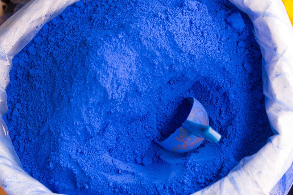 Blue and Indigo