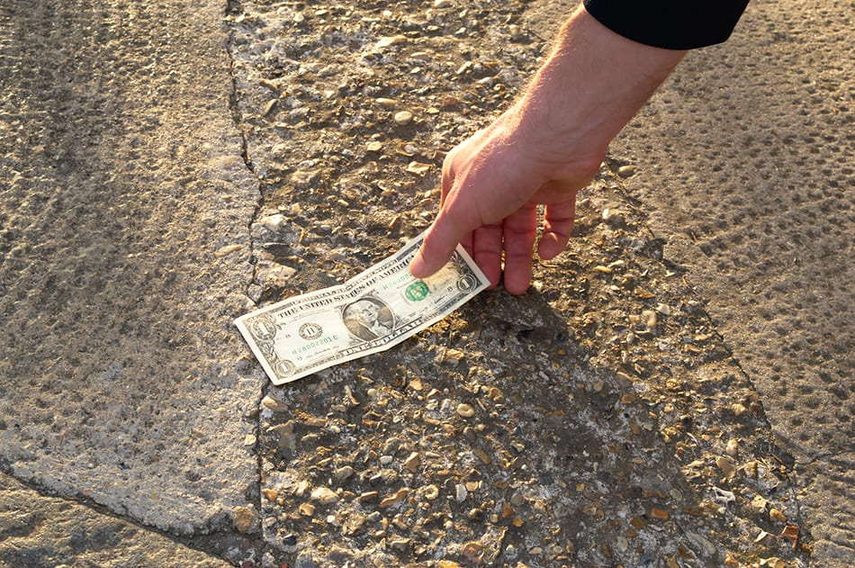 Finding Paper Money