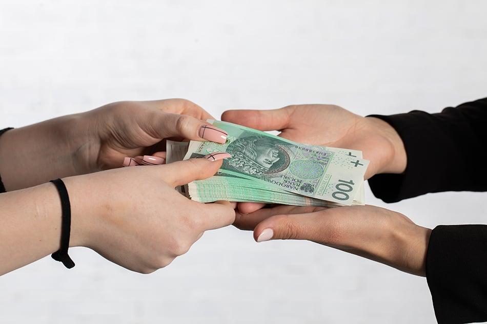 Seeing Money Exchange Hands