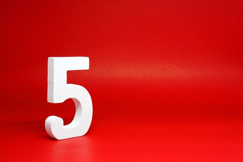 Number five symbolism