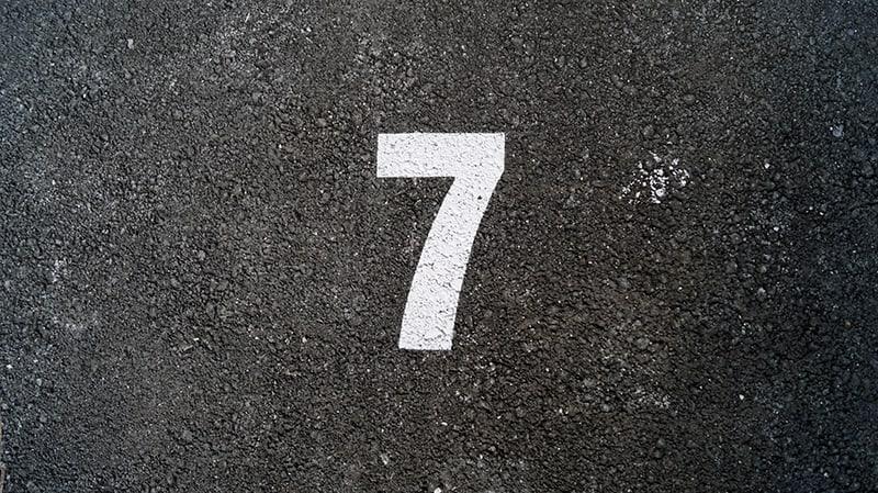 Number seven symbolism