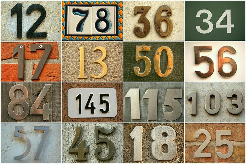 Street Numbers in Dreams