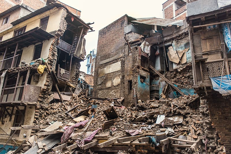 Dreams About Seeing Destruction Caused by an Earthquake