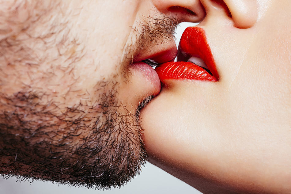 a kiss on the lips