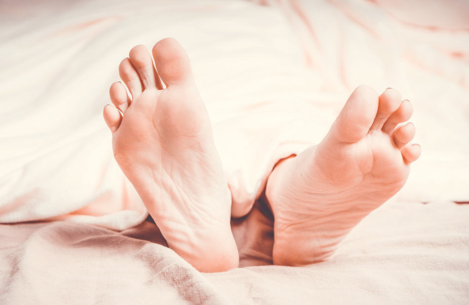 someone else's feet