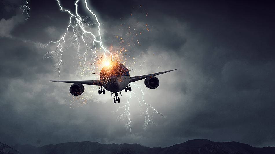 Dream About An Airplane Crashing From The Sky