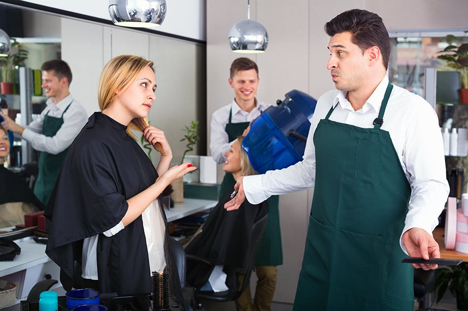 Arguing with the Hairdresser in a Dream