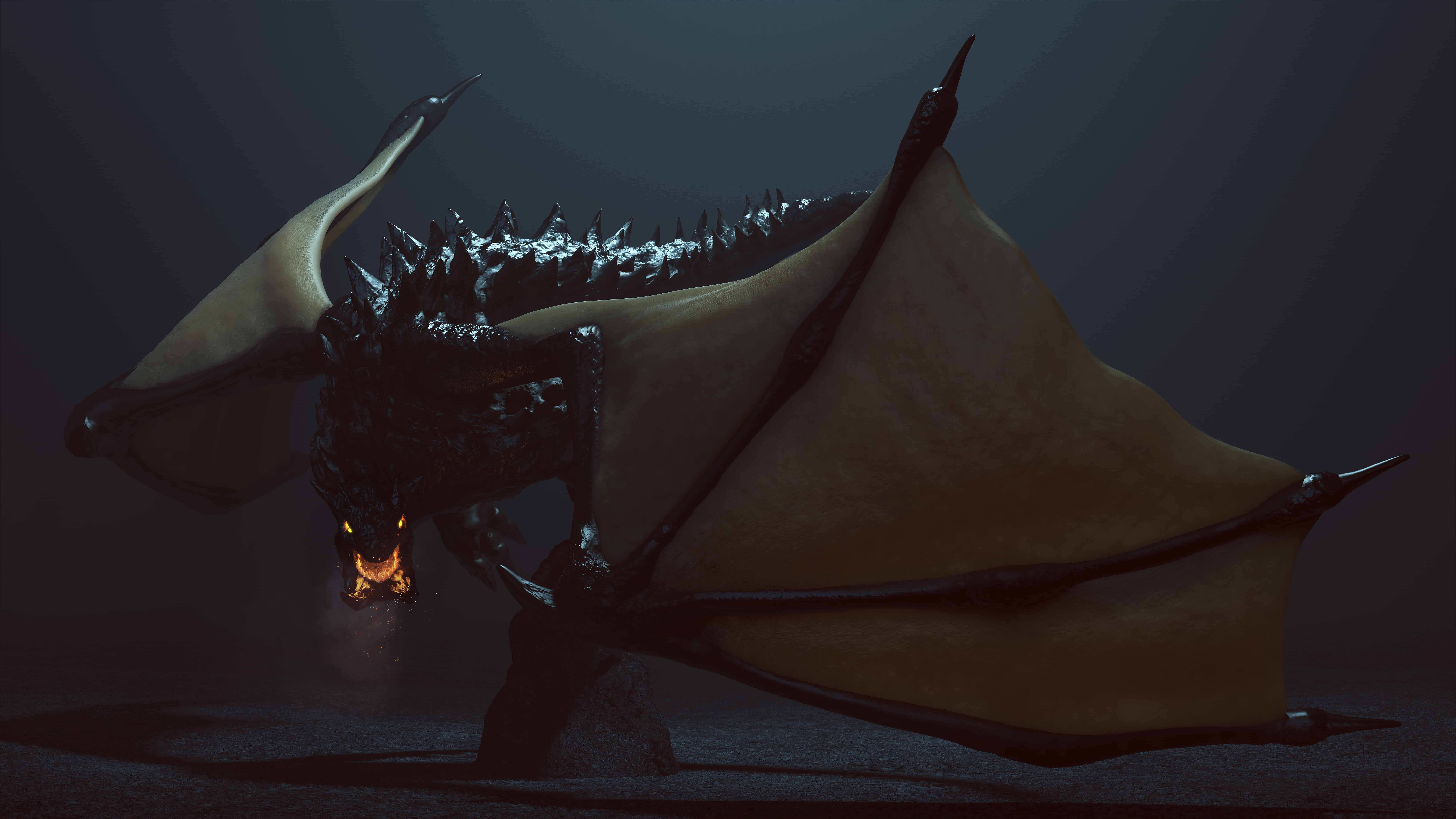 Black dragon dream meaning
