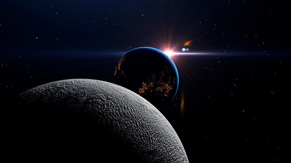 Dream about planets aligning