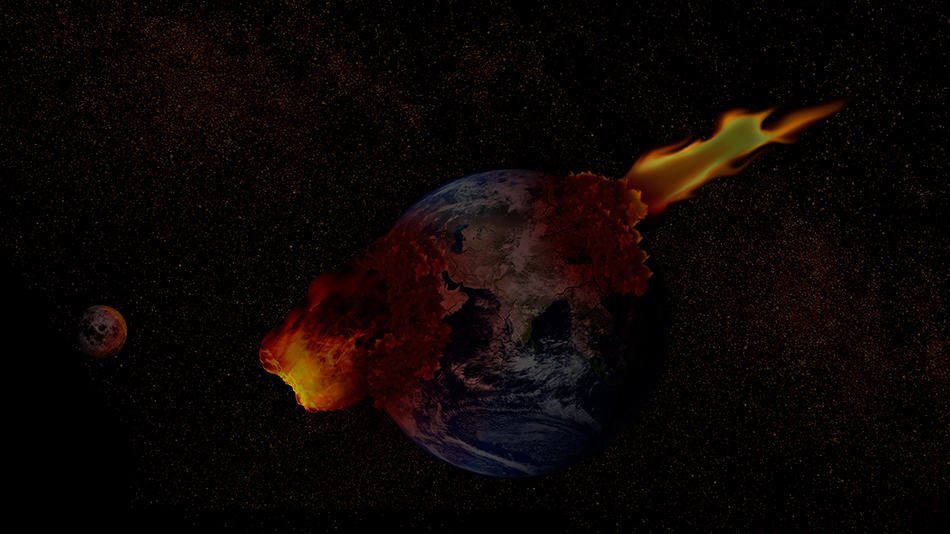 Dream of Earth being destroyed
