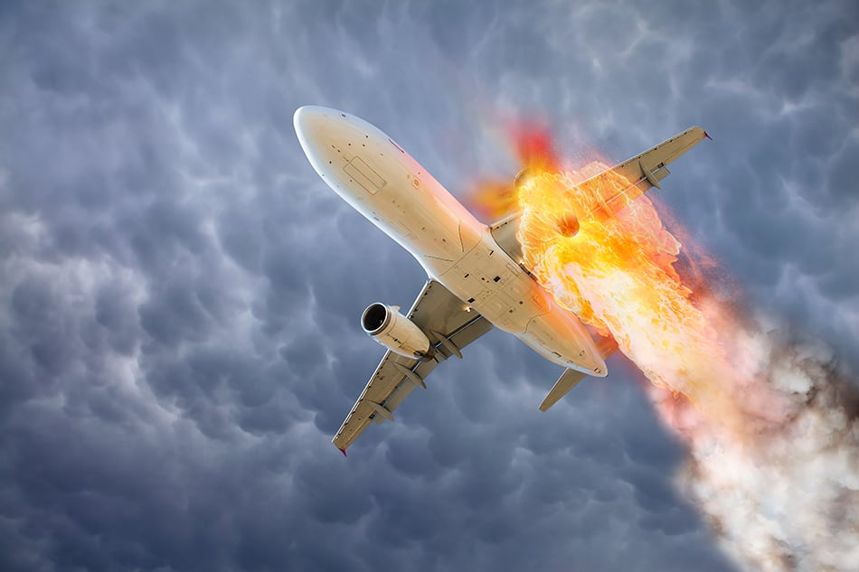 Dreams About Plane on Fire or An Exploding Plane