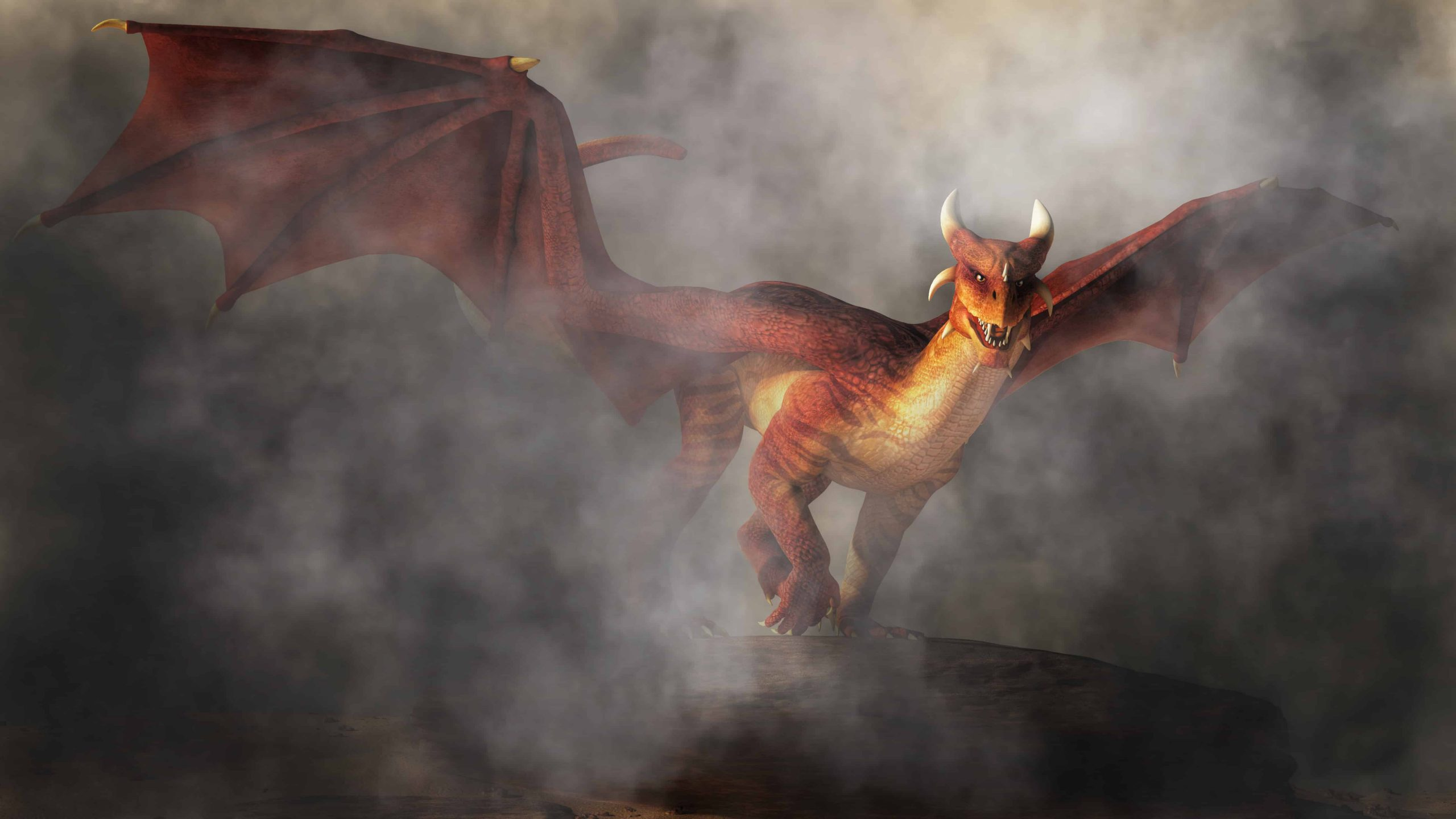 Red dragon dream meaning