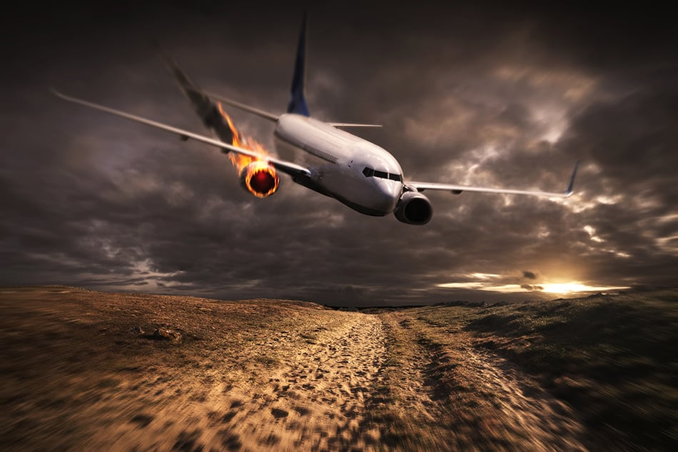 Dreams About Watching a Plane Crashing