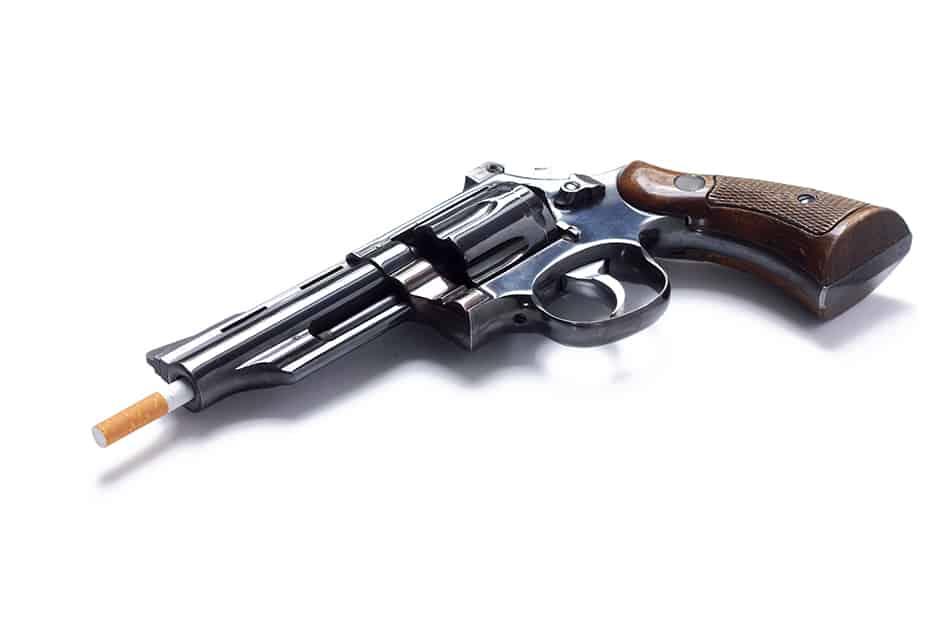 Dream of a gun that won't shoot