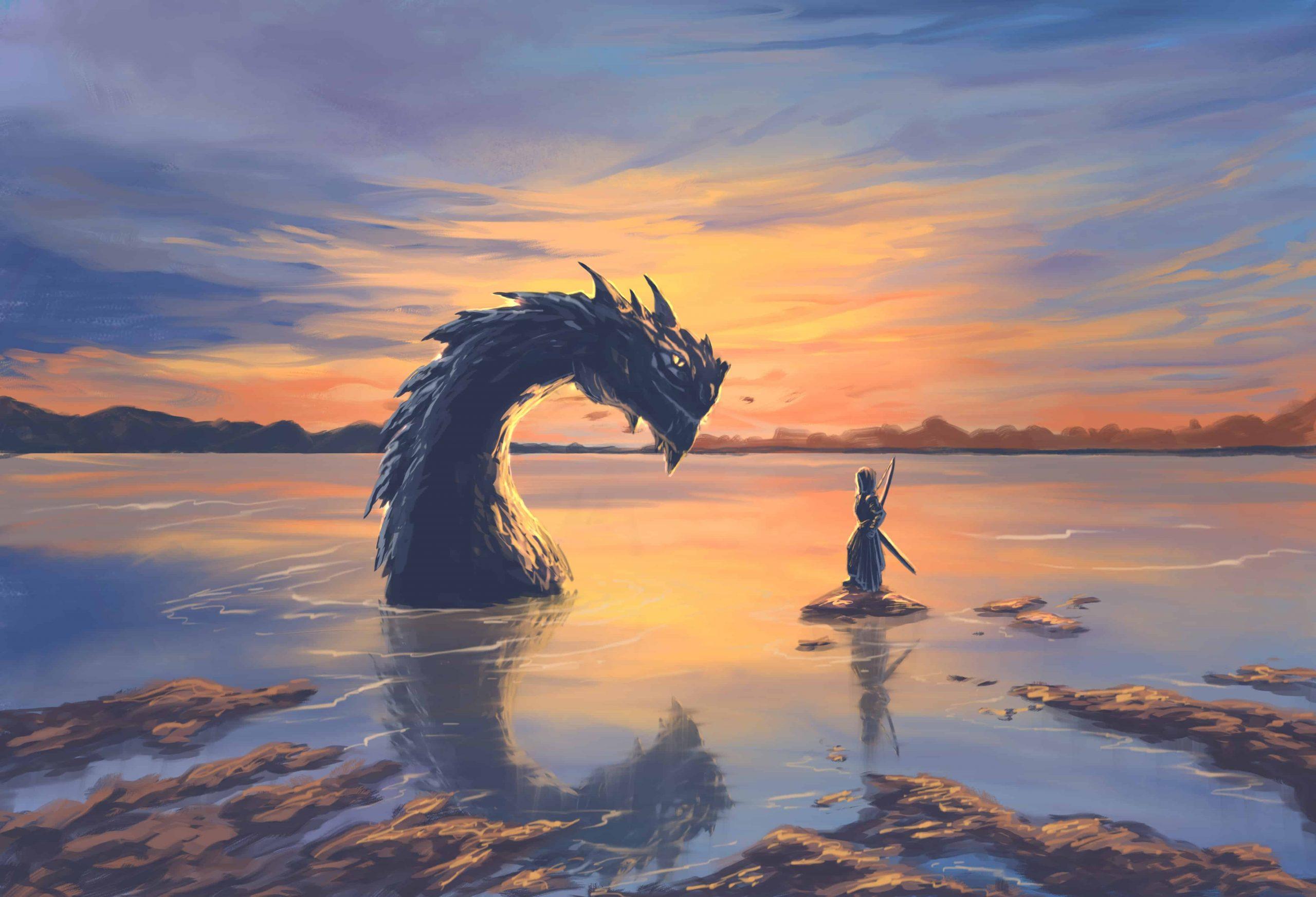 Dream of a sea dragon