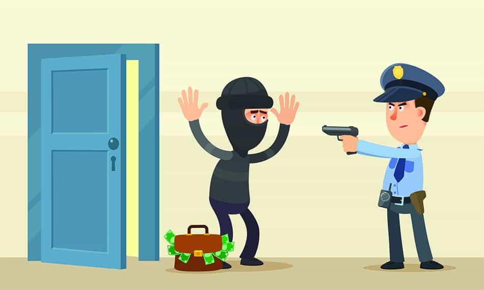 Dream of shooting an intruder