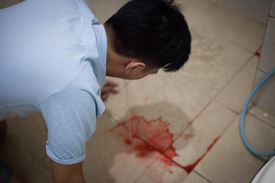 Dream of vomiting blood