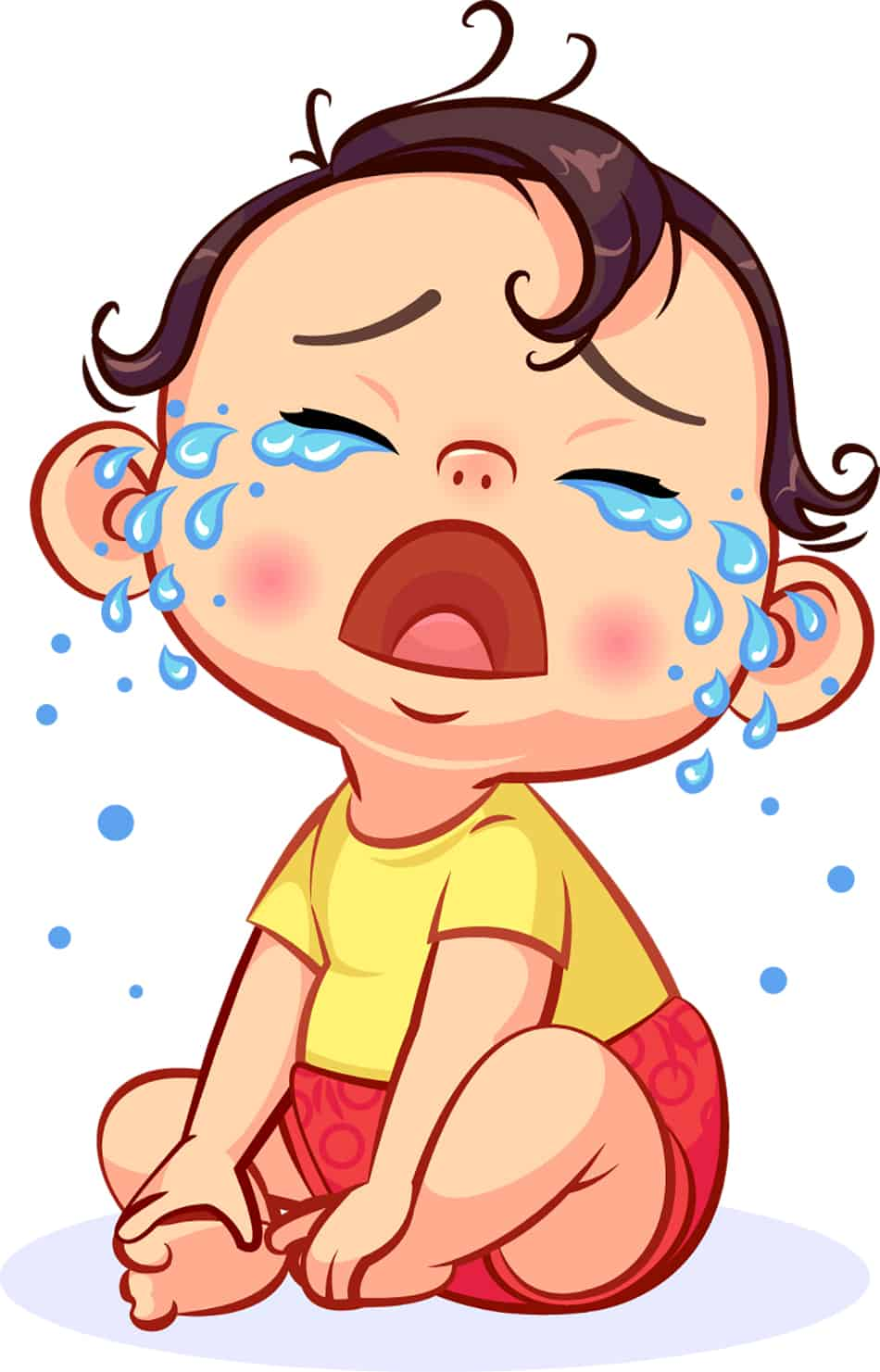 Dream of a crying baby boy