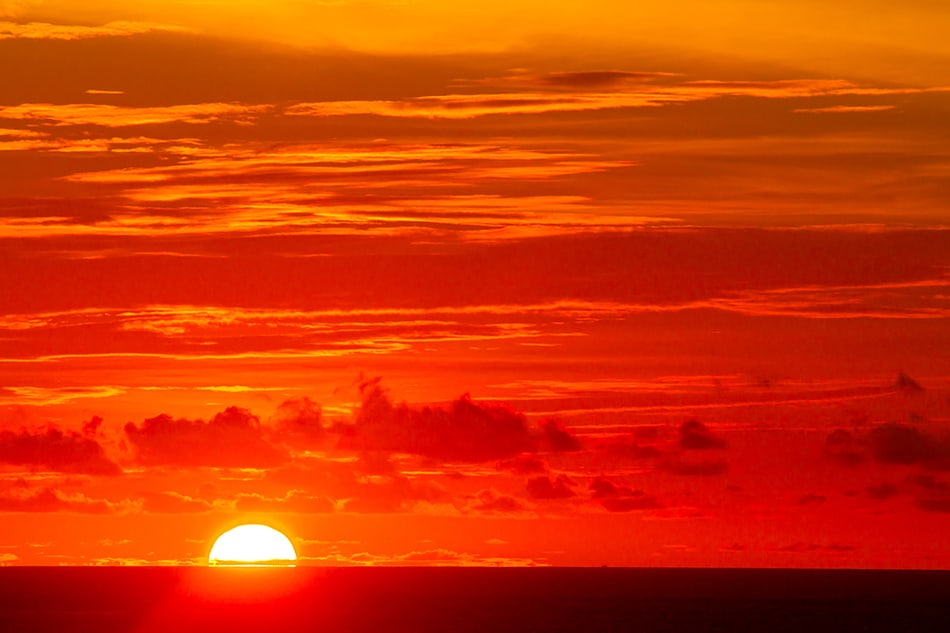 Dream About Red Sunset