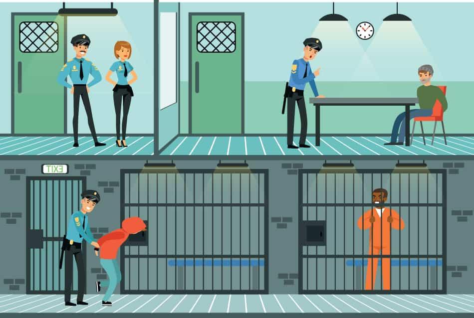 Dream of seeing prisoners