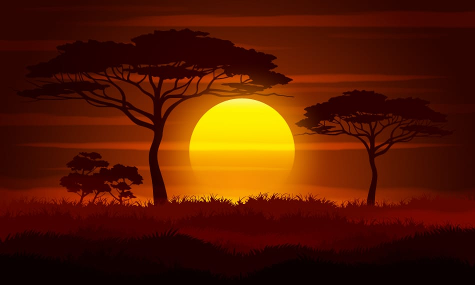 Sunset Symbolism