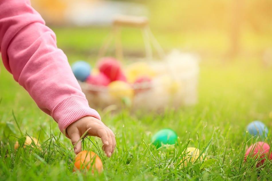 Dream of an Easter egg hunt