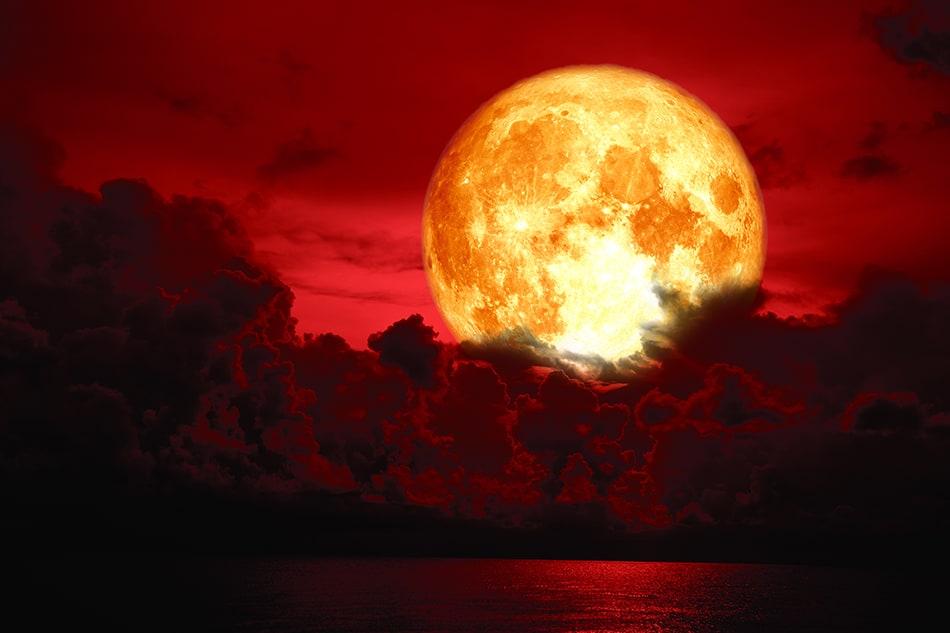Blood Moon Dream Interpretation