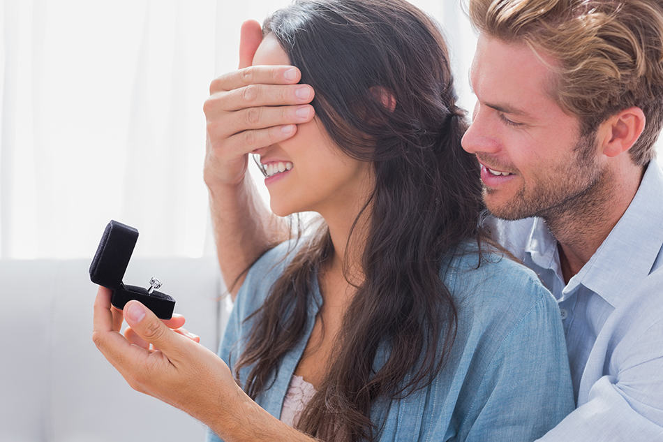 Dream of getting engaged to someone else you know