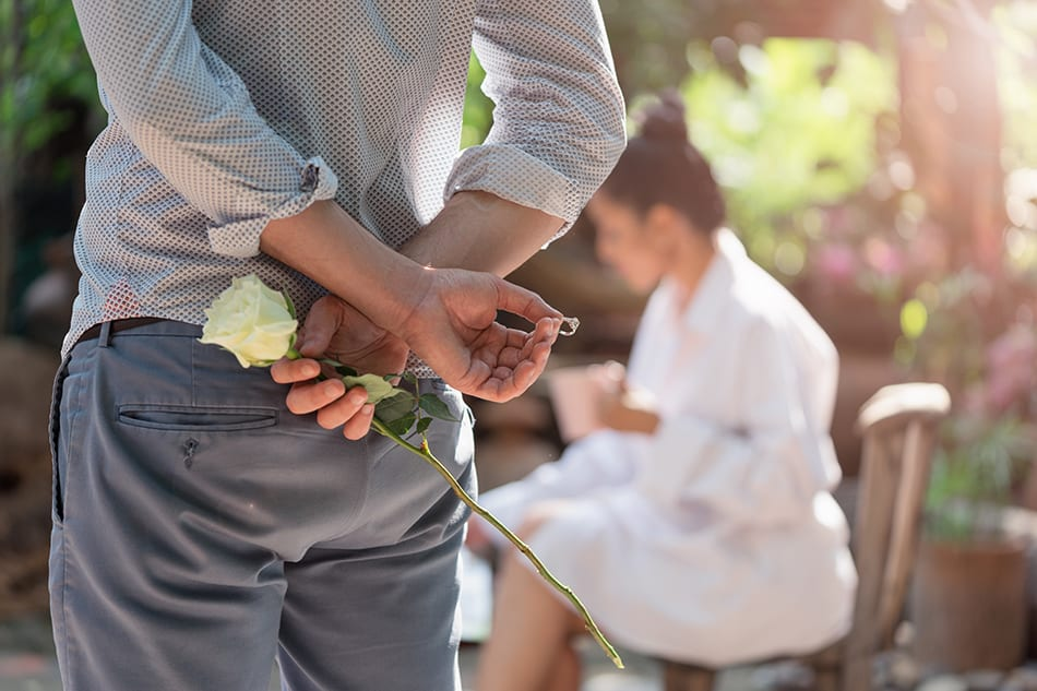 Dream of getting engaged to your partner