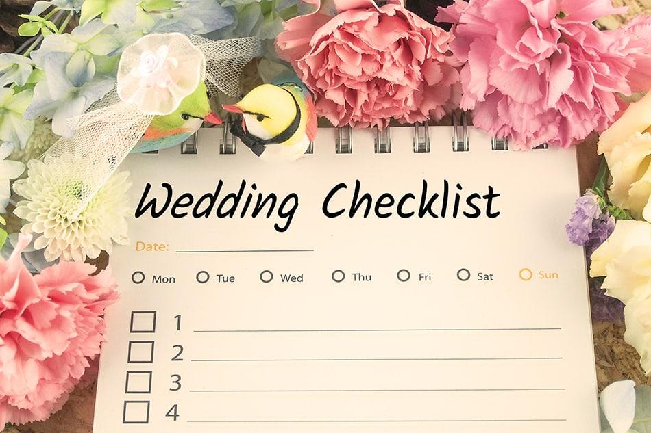 Dream of planning a wedding