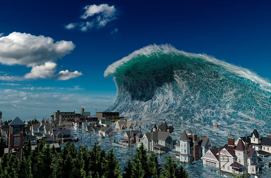 Dreaming of Tsunami - Symbolism and Meaning