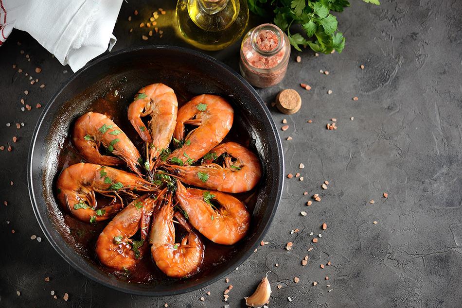 Dreaming of Shrimp as Food