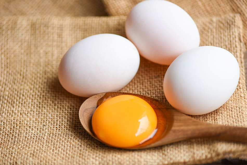 eating duck eggs
