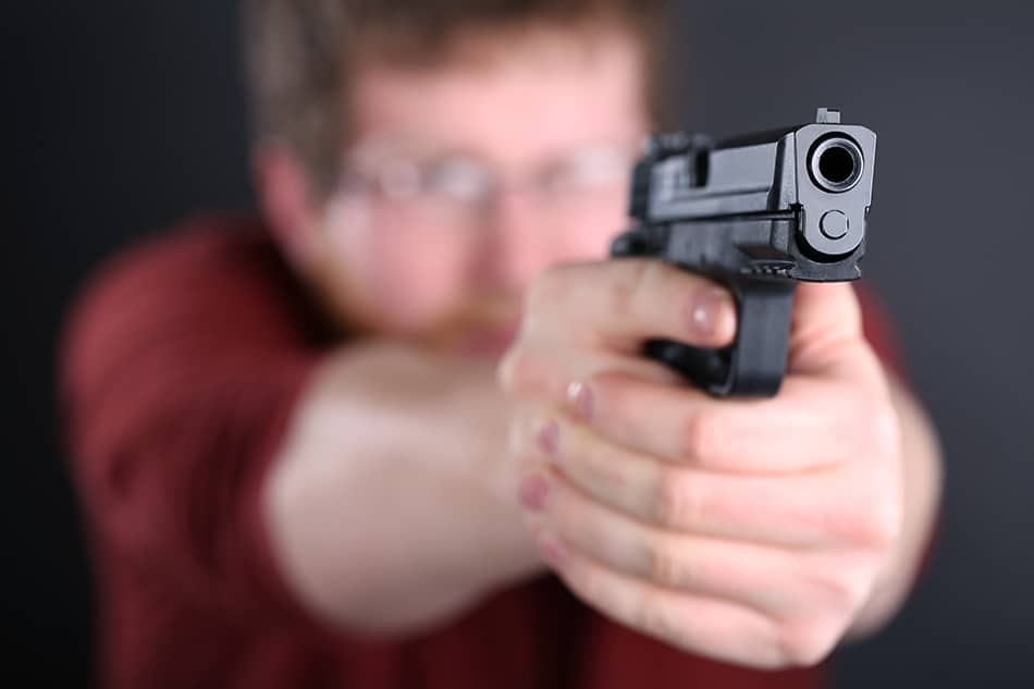 Dream of shooting an intruder in self-defense