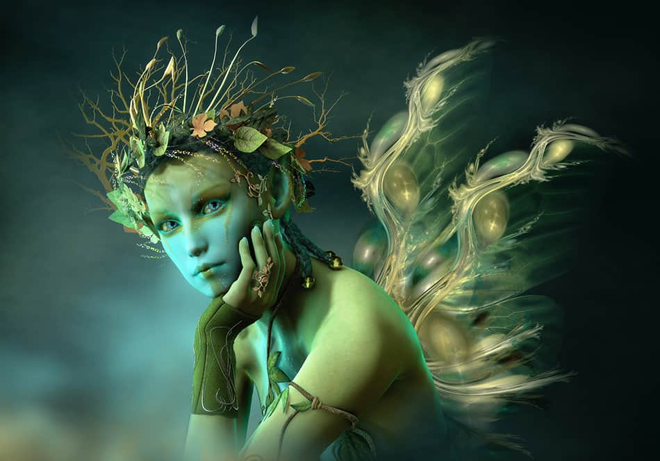 Fairy as a sign of trouble