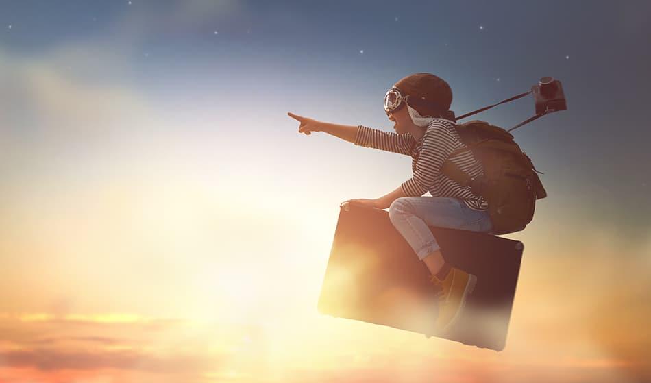 Flying dreams that feel good