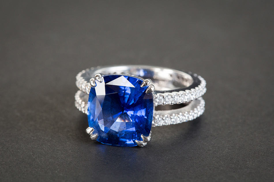 Dream of a blue sapphire ring