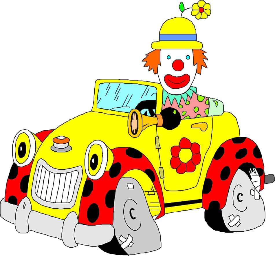 Dream of a clown car