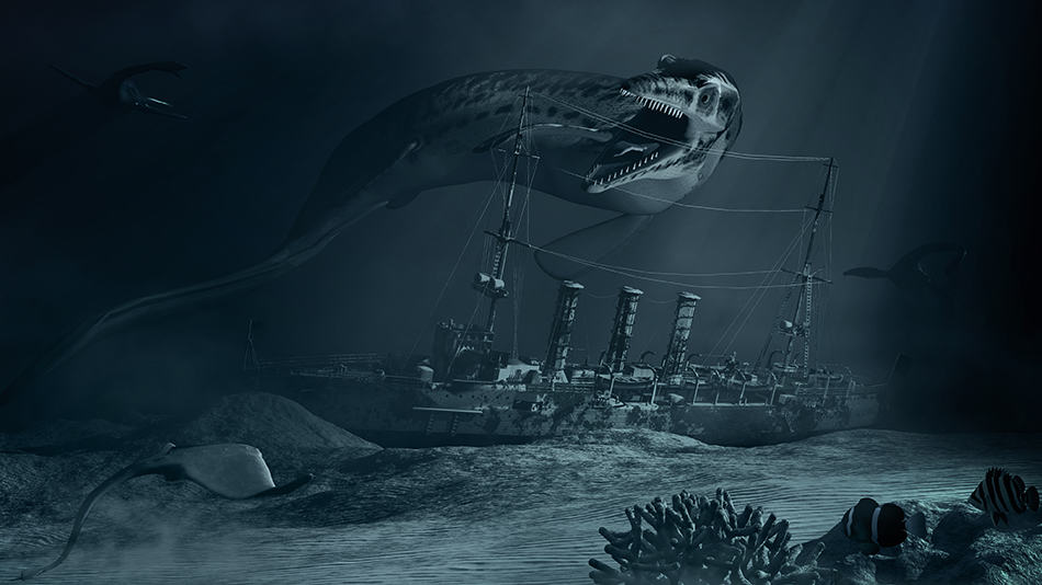 Dream about a sea monster