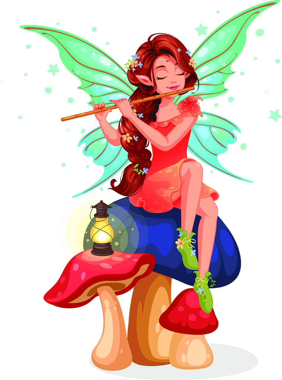 Dreaming of fairies as a sign of personal growth