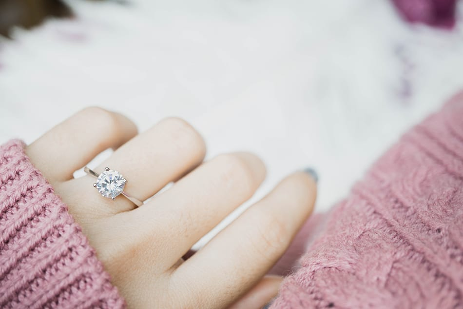 Dream of an engagement ring