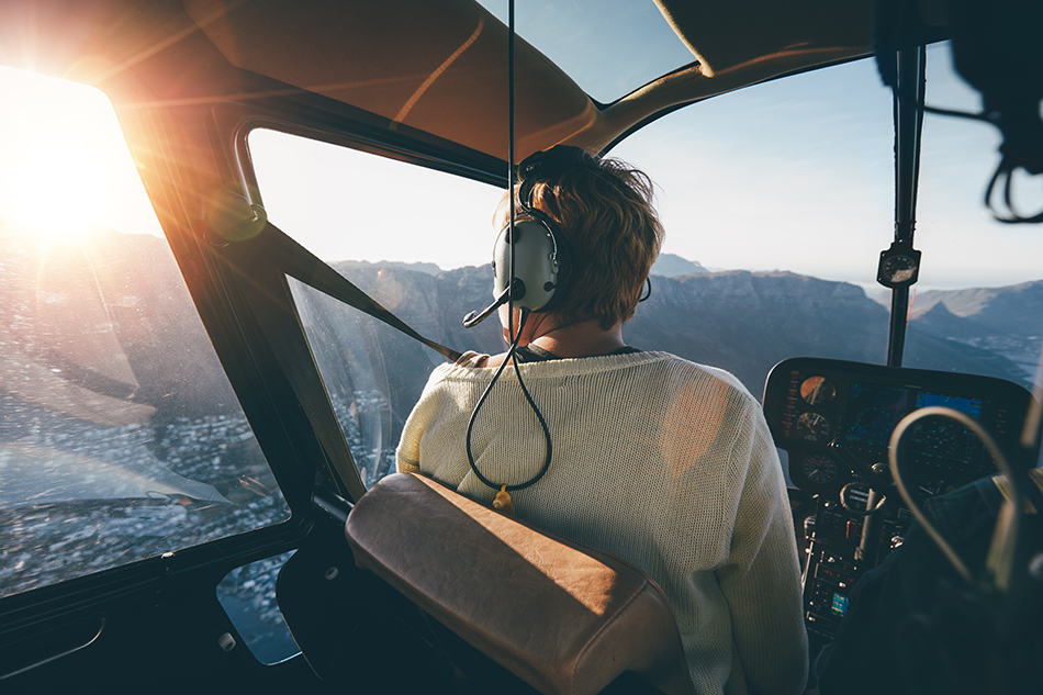 Dream of piloting a helicopter