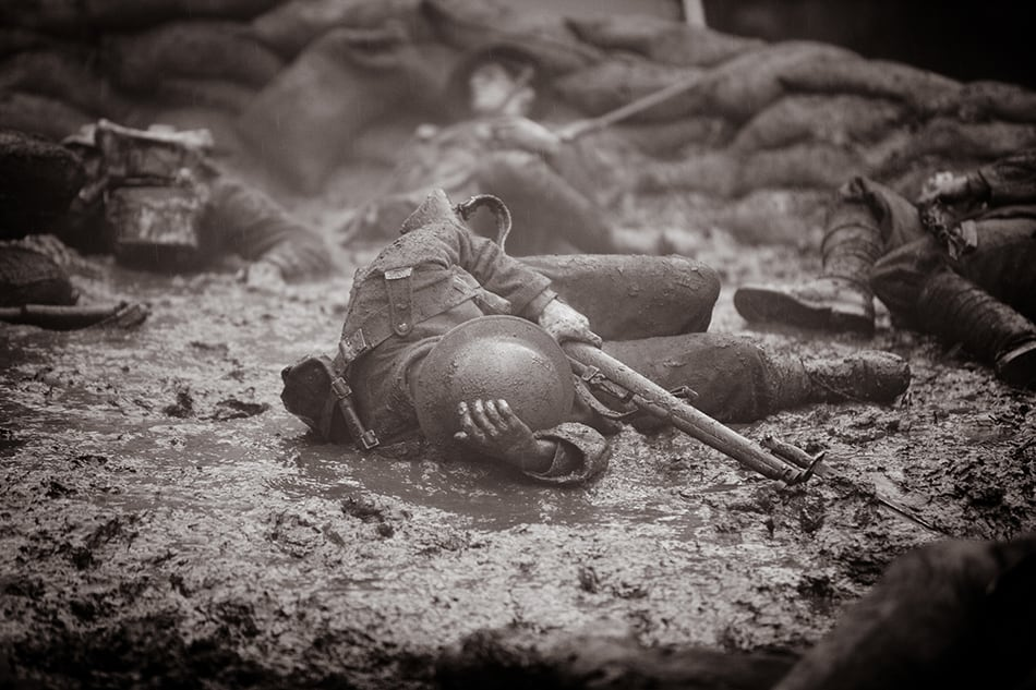Dream about war and death