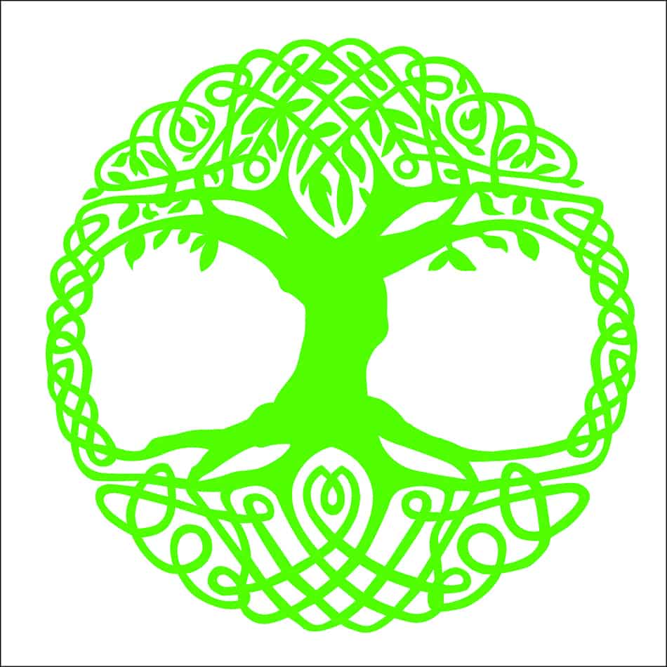 Tree of life (with Yggdrasil example)