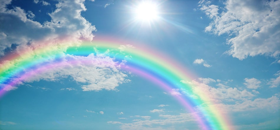 Dream of a rainbow without rain