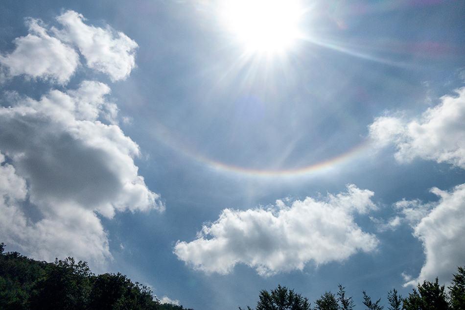 Dream of an upside down rainbow