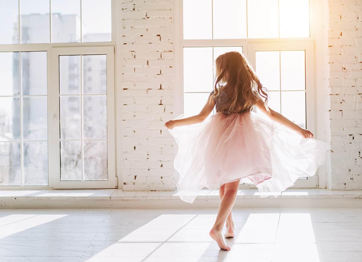 Dream of a little girl