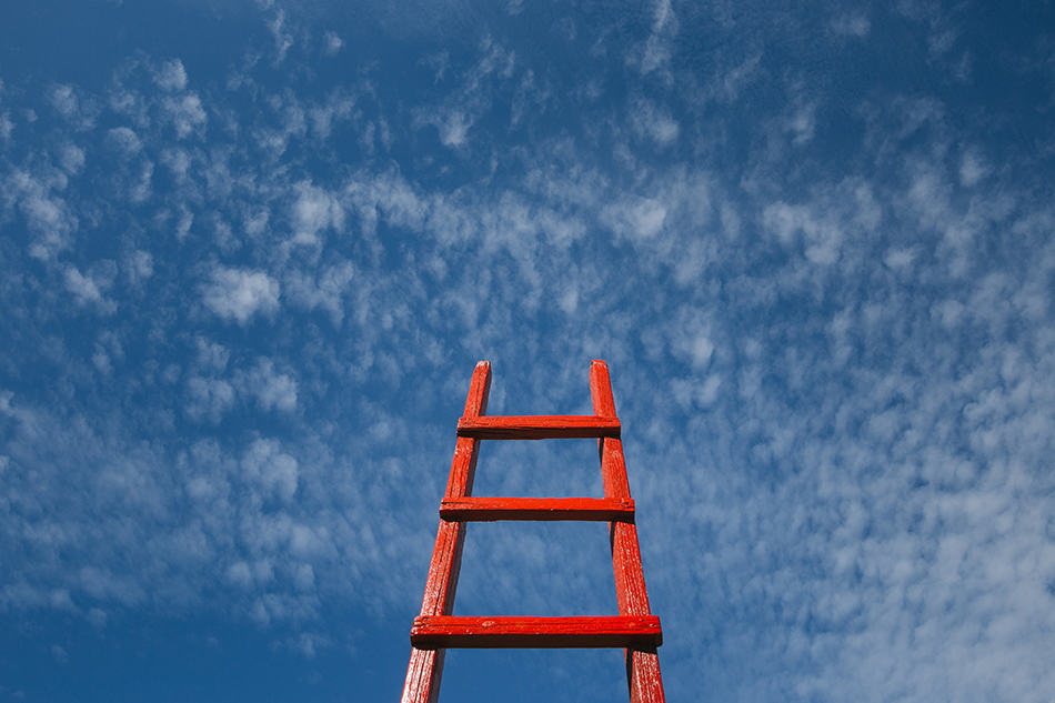 Dream of a red ladder