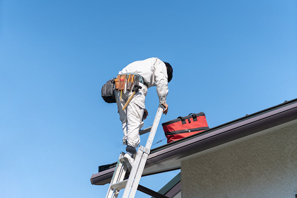 Dream of climbing down a ladder