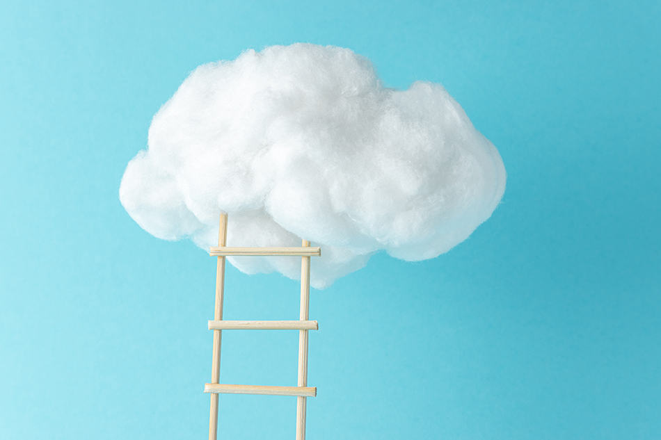 Dream of a ladder to the clouds